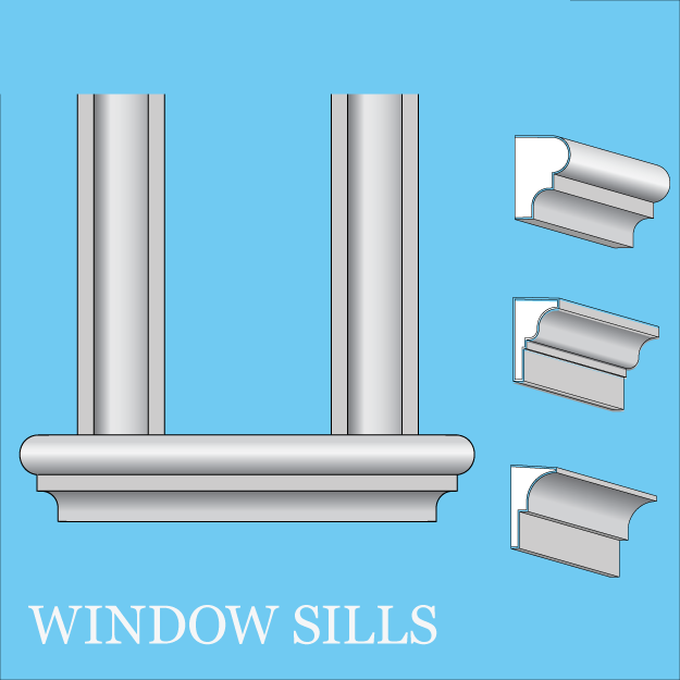 Window Sills Advanced Foam Inc